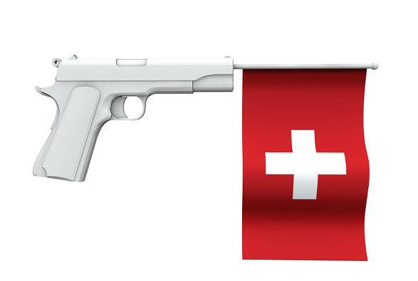 armi e legittima difesa in Svizzera